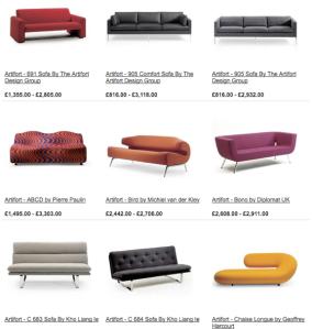 Möbel Kategoriepage